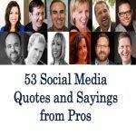53 Social Media Quotes